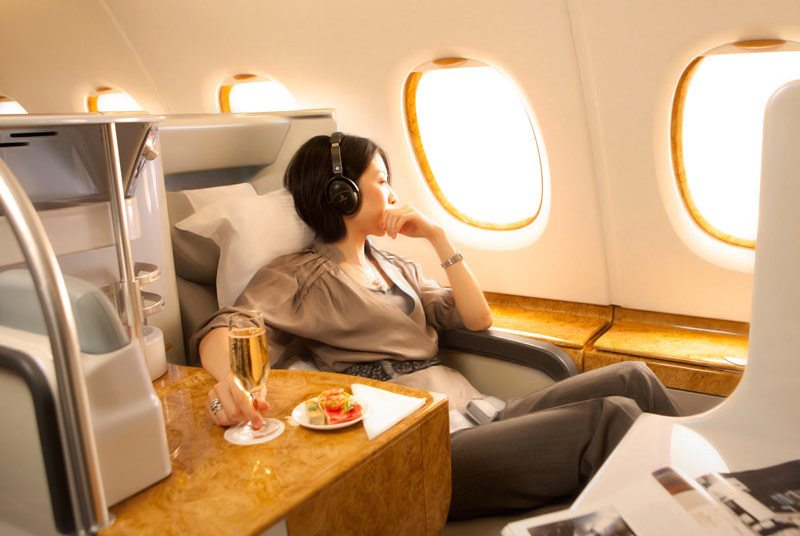 Emirates Business Class