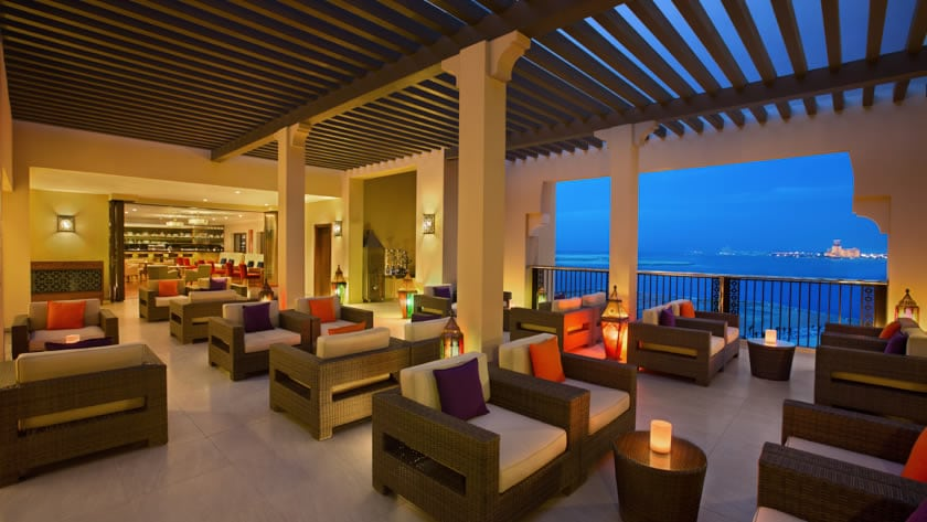 Doubletree by Hilton Resort & Spa Marjan Island, View from the Lounge