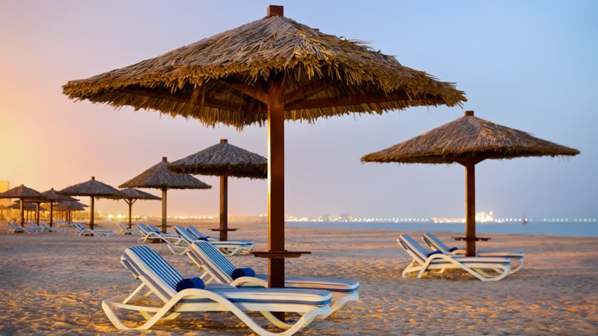 Hilton Al Hamra Beach & Golf Resort, Beach