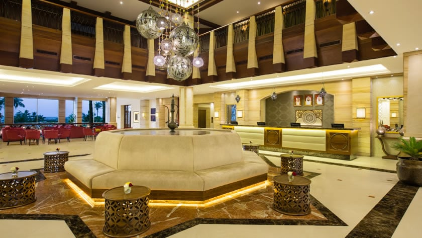 Hilton Al Hamra Beach & Golf Resort, Lobby