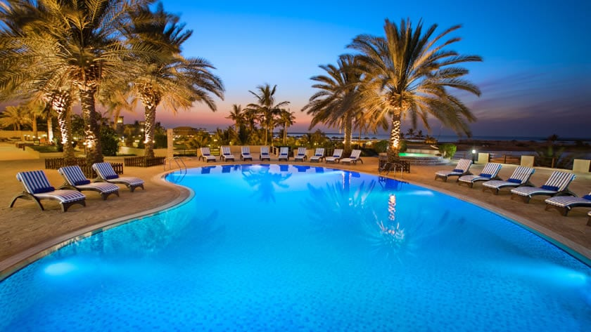 Hilton Al Hamra Beach & Golf Resort, Main Pool