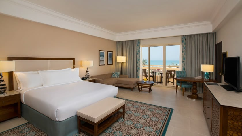 Hilton Al Hamra Beach & Golf Resort, Superior Seaview Room