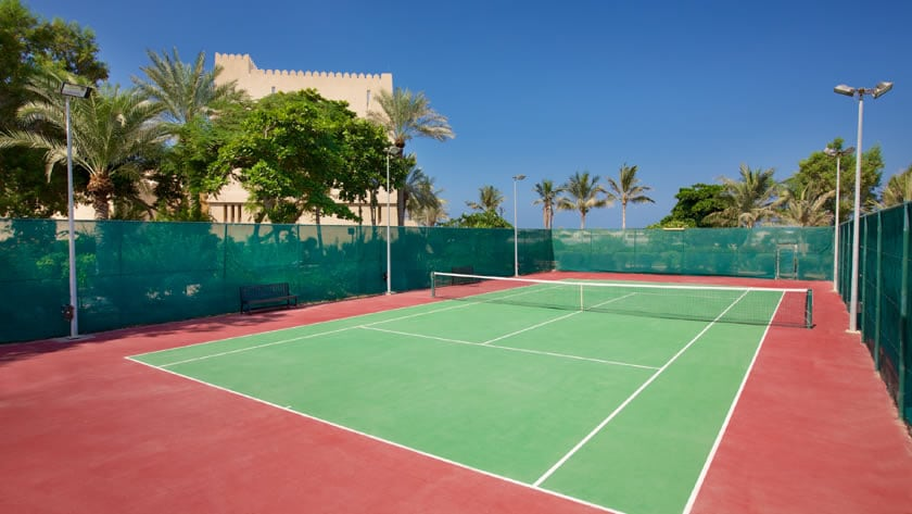Hilton Al Hamra Beach & Golf Resort, Tennis Court