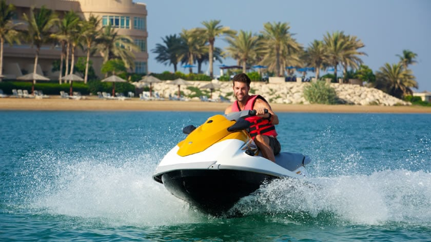 Hilton Al Hamra Beach & Golf Resort, Watersports