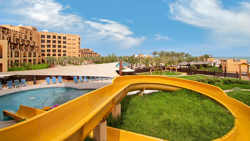 Hilton Ras Al Khaimah Resort Kids Outdoor Pool & Slide