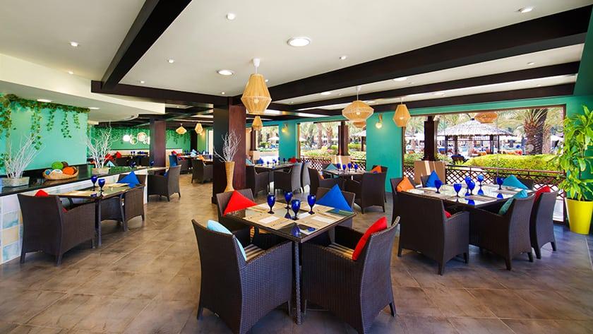 Hilton Ras Al Khaimah Resort Pura Vida Restaurant
