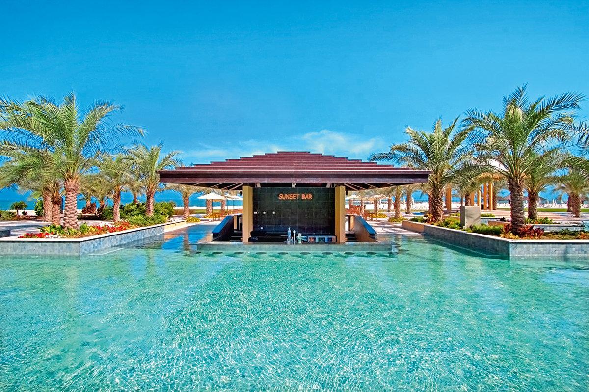 Hilton Ras Al Khaimah resort sunset bar