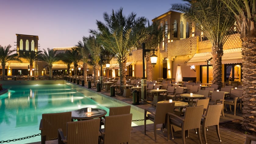 Rixos Bab Al Bahr, Entertainment Square