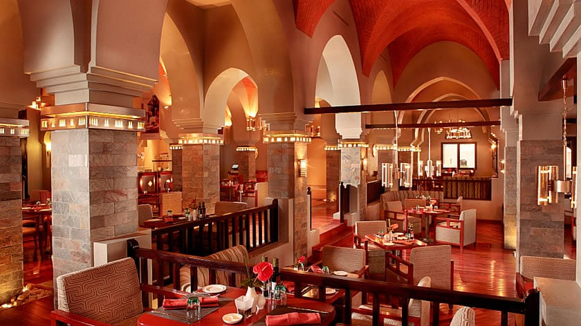 The Cove Rotana Resort, Basilico Restaurant