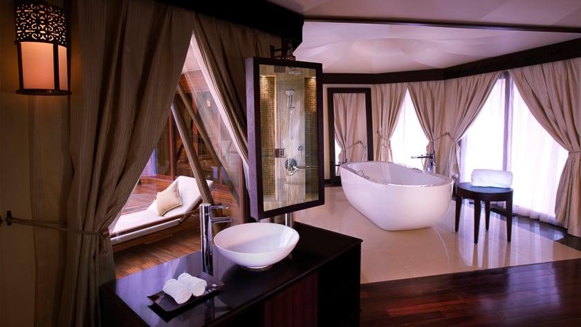 The Ritz Carlton Ras Al Khaimah, Al Wadi Desert, Al Khaimah Tented Poll Villa Bathroom