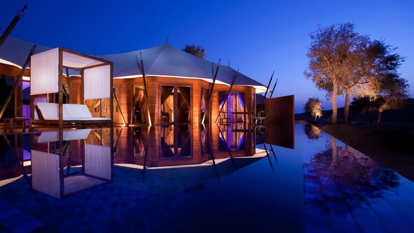 The Ritz Carlton Ras Al Khaimah, Al Wadi Desert, Al Khaimah Tented Poll Villa