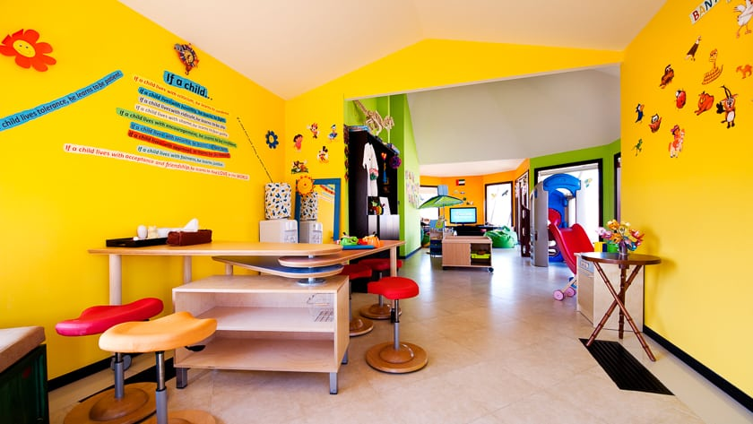 The Ritz Carlton Ras Al Khaimah, Al Wadi Desert, Kids Club Playroom