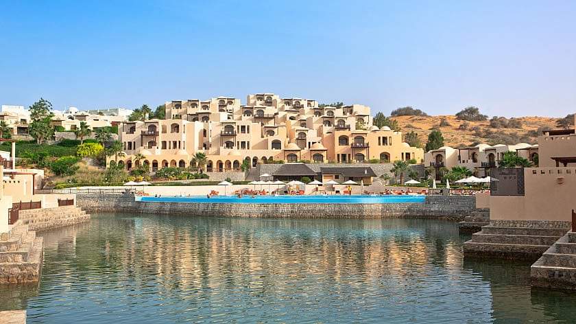 The Cove Rotana Resort pool view