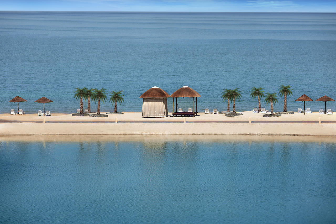 The Cove Rotana Resort View of the Sea Cabanas