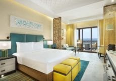 Doubletree by Hilton Resort & Spa Marjan King Bay Club beach front room with sea view